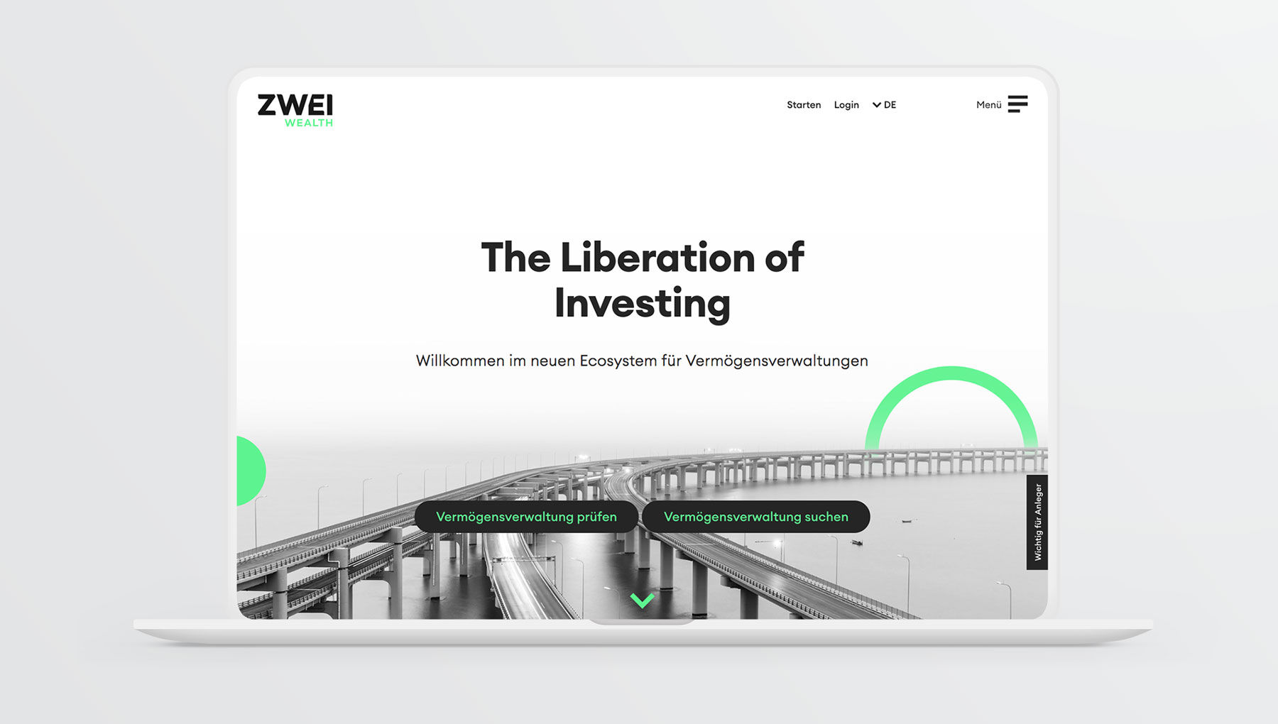 ZWEI Wealth Website